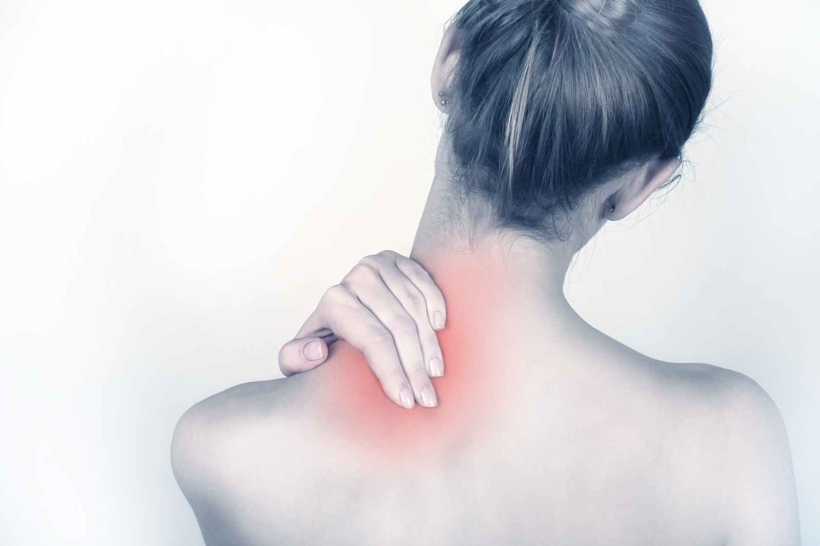 sudden acute neck pain, or chronic neck problems